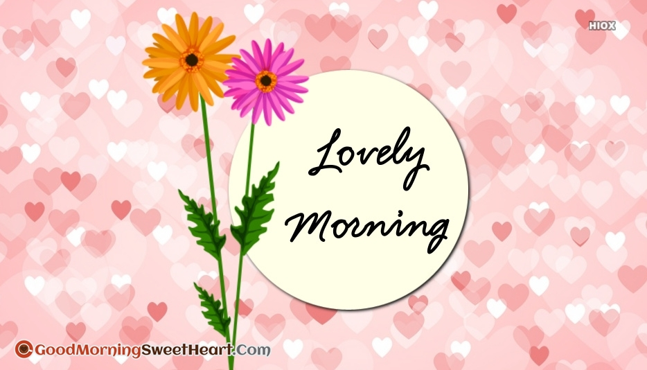 Lovely Good Morning Sweetheart Images